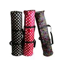 сумка с несколькими карманами оптовых-Водонепроницаемый коврик для йоги с сумкой для упражнений Многофункциональные карманы для хранения с регулируемым ремешком