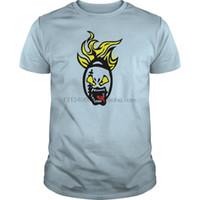 american football-shirt kinder großhandel-Männer T-Shirt Kurzarm American Football Rugby Cartoon Gesicht Kinder Shirts Kinder Premium T-Shirt cool O Hals Frauen T-Shirt