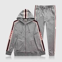 männer s kapuzen sweatshirts jacke groihandel-Markendesigner Herren Jogginganzüge Medusa Printed Hoodies Sweatshirt Slim Fit Trainingsanzüge für Herren Langarm Jacke Sweatshirts