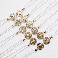 zodiac jewelry taurus venda por atacado-Sinal do zodíaco Colar 12 Constellation colares Celestial lembrança Jóias Virgem Touro Leo Gêmeos Capricórnio moda Gift O136FZ