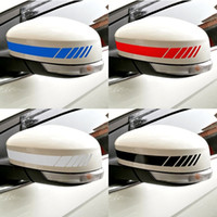 Wholesale car side graphics for sale - Group buy Car Styling Auto SUV Vinyl Graphic Car Sticker Rearview Mirror Side Decal Stripe DIY Car Body Decals