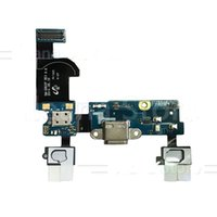 samsung s5 flex port großhandel-USB Ladeanschluss Dock Connector Flex Kabel für Samsung Galaxy S5 Mini G800 G800F G800H Alpha G850 G850F Original Menu Mic Flex