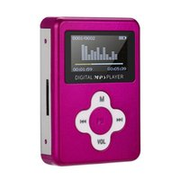 Wholesale mp3 player screen gray for sale - Mp3 Player Mini Support USB Mini LCD Screen Metal Easy To Carry Support GB GB Micro SD TF Card Apr droship
