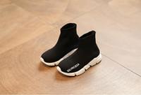 ingrosso fabbrica di maglieria del calzino-Fabbrica diretta scarpe sportive primavera e autunno bambino per bambini in esecuzione scarpe sportive per bambini ragazzi e ragazze maglia calzini sportivi scarpe