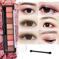 Wholesale professional eyeshadow palette sale for sale - Group buy 8 Colors Professional Makeup Brand Eyeshadow Palette Glitter Eye Palette Matte Silky Pigments Eye Shadow Hot Sale W1
