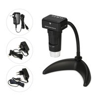 Wholesale handheld digital video camera online - 200X Wireless Wi Fi Digital Zoom Microscope MP Camera LED Light Handheld Magnifying Glass Magnifier For Phone