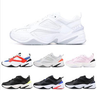 zapatos de la letra unisex n al por mayor-M2K Tekno Dad Zapatos deportivos para hombres Diseñador de moda de alta calidad Zapatillas Zapatillas Zapatillas de deporte de diseño 36-45