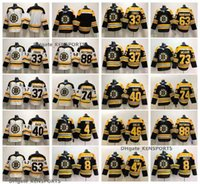 jersey de invierno bruins al por mayor-2019 Clásico de Invierno Boston Bruins Patrice Bergeron Orr Chara Brad Marchand David Pastrnak DeBrusk Rask Krejci Krug McAvoy Camisetas de hockey