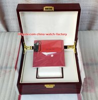 orijinal kutu kağıtları saatler toptan satış-Sıcak Satış En Kaliteli PP Nautilus İzle Orijinal Kutusu Kağıtları Kart Ahşap Hediye Kutuları Çanta 20 * 16 CM Için Aquanaut 5711 5712 5990 5980 Saatler