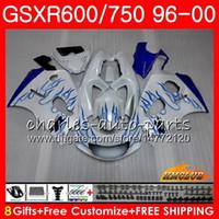Wholesale fairings pearl white for sale - Group buy Body Pearl White For SUZUKI SRAD GSXR GSXR GSXR750 HC GSX R750 GSXR600 Fairing kit