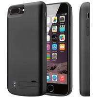 arka pil kapağı toptan satış-Harici Pil Kutusu Geri Güç Bankası Şarj Kapağı Yedek Pil Şarj Koruyucu Şarj Kılıf iphone 6/7/8 artı X / XR / XS / XS Max