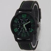 grande relógio legal venda por atacado-Moda Militar de silicone Homens relógio GT Esporte relógios Big Numeral Dial GT Men esportes relógio de quartzo Cool Men relógio de Pulso