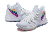 Wholesale discounted shoes for kids resale online - Kyrie V Be true kids GS for sale With Box Irving women Basketball shoes store discount size36
