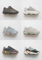 lazer dos homens venda por atacado-Brand New 700 Analog Salt malva Runner tênis para homens mulheres Geode lnertia ESTÁTICO WAVE RUNNER esporte Lazer sneakers tênis