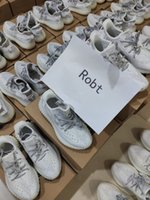Wholesale black silver stockings for sale - Group buy Stock X Kanye Black Static West Running Shoes Women Mens M Reflective Synth Antlia GID Clay Zebra Beluga True Form Sneakers