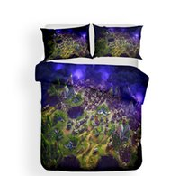 Wholesale 3d bedding set online - 3D Print Fortnite Theme Pattern kids Bedding Sets All Sizes Pillow Case Quilt Cover