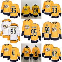 Wholesale matt jersey resale online - Nashville Predators Matt Duchene Roman Josi Ryan Johansen Filip Forsberg Pekka Rinne Mikael Granlund Hockey Jerseys