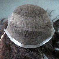 kısa insan saçı örgüleri toptan satış-Erkekler için uyarlanmış en son toptan siyah el dokuması kısa düz siyah insan peruk, saç kalitesi, kullanım rahatlığı.