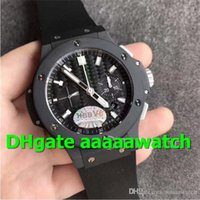 ingrosso carbonio ceramico-V6 Luxury Watch 301.CI.1770.RX Orologio 7750 movimento cronografo automatico 4104 Orologio da uomo in cinturino in caucciù con quadrante in fibra di carbonio