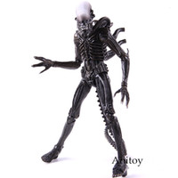 Wholesale Classic Movie Alien Action Figure Xenomorph PVC Collectible Model Toys Dolls Gift For Kids