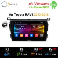 Wholesale toyota rav4 car player dvd gps resale online - Ownice G DSP Din Android car dvd player GPS for Toyota RAV4 Rav