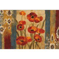 ingrosso tela di arazzo-Silvia Vassileva dipinti Ikat Floral Tapestry paesaggi astratti olio su tela Handmade arte regalo