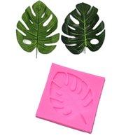 Wholesale new chocolate molds for sale - Group buy 2018 New DIY Palm Trees leaf Silicone Cake Molds Turtle Leaves Silicone Fondant Mold Cake Decor Chocolate Sugarcraft Baking