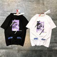 ingrosso usa camicie sportive-19ss usa fashion brand OFF classico stampa digitale T-shirt girocollo temperamento paio sport tendenza comoda manica corta