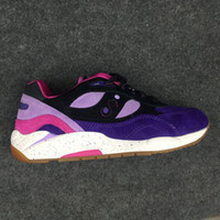 обувь для сауны оптовых-Модная обувь Premier x Saucony Shadow 6000 Повседневная обувь Мужчины Женщины Марка Дизайнер Марс Темно-серый / Оранжевый X Feature Размер G9 36-44