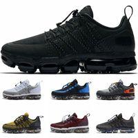 5c3592eb72 max shoes 2019 - 2019 Run Utility Mens Running Shoes Triple Black Grey  Olive Burgundy Crush