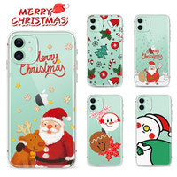 Wholesale i phone 6s plus online – custom Merry Christmas TPU Case For iPhone Pro i Phone Plus X Xr Xs Max Galaxy Note