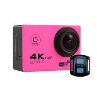 ltps lcd оптовых-Высокое качество F60R 170 HD Широкоугольный объектив WIFI на открытом воздухе Спортивная камера Deportiva Шлем Cam 30M подводный водонепроницаемый 2.0 LTPS LCD