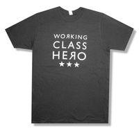 Wholesale class printing resale online - MANIC STREET PREACHERS quot WORKING CLASS HERO quot GREY T SHIRT NEW ADULT XL Men Women Unisex Fashion tshirt black