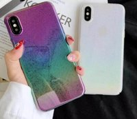 Wholesale plastic raindrops online – custom Gradient Waterdrops Bling Hard PC Case For Iphone XR XS MAX X Rain Drop Raindrop Plating Metallic Chromed Luxury Phone Cover