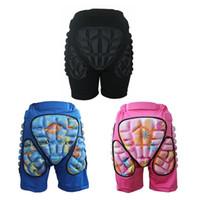 pantalones cortos para niñas al por mayor-Nuevos niños Snowboard Ski Hip Pad Protección Ciclismo Esquí Skateboard Shorts deportivos Niños Chicas Patinaje Roller Shorts # 603646
