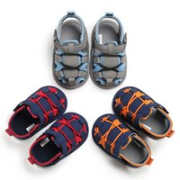 Wholesale toddler girl rubber sandals resale online - Hot Fashion Baby Infant Kid Summer Girl Soft Sole Crib Toddler Boys Sandals Shoes