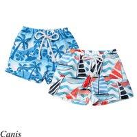 пляжные брюки оптовых-2018 Kids Baby Boy Floral Beach Shorts Casual Jogger Short Pant Bottoms Trunks Sport 0-4Y