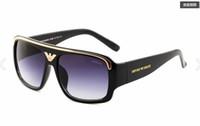 vintage timsah erkekler toptan satış-Marka erkek Vintage Kare Güneş Gözlüğü Lens Gözlük Aksesuarları Erkek Güneş Gözlükleri Erkekler Kadınlar Için timsah 290