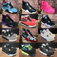 Wholesale winter boots shoes children resale online - 2019 New Children shoes Basketball Shoes New s Sneakers kids Sports girl trainers Basketball Shoes size