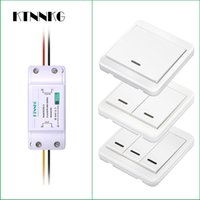 Wholesale wireless rf kit for sale - Group buy heap Remote Controls Wireless Light Switch kit No Wall Power Remote Control Switches for Lamps Fans Appliances Mhz RF Receiver Default