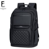 Wholesale backpack for men travel laptop for sale - Group buy FENRUIEN inch Laptop Backpack For Men Water Repellent Functional Rucksack Business USB Charging Travel Backpacks Bag MaleMX190903