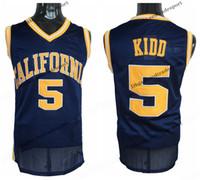 1fdc7bb99561 Mens California Golden Bears Jason Kidd College Basketball Jerseys Home  Blue Vintage Cheap 5 Jason Kidd Stitched Shirts S-XXL. Supplier   redtradesport