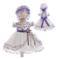 Wholesale korean girl gown short for sale - Group buy Baby Girls dress Korean version Princess dress Baby gauze skirt with cotton lining in short sleeve