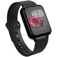 ingrosso vigilanza monitoraggio-Smart Watch B57 Smart Watches Sport impermeabili per iPhone Telefono Smartwatch Cardiofrequenzimetro Funzioni di pressione sanguigna per donna uomo bambino