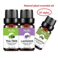 aromatische öle großhandel-100% natürliche Pflanze Zitrone Rose Lavendel Reine Ätherische Öle Aromatische Entspannungstherapie Bessere Hautpflege Massage Werkzeuge