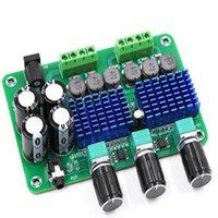 placa de poder do alto-falante venda por atacado-1pc 2x50W XH-A311 Digital Amplifier Power Board High Power 2.1 Canal TPA3116D2 caseiro sem fio Subwoofer Ajuste Baixo