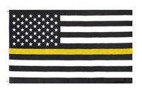 segurança dos motoristas venda por atacado-3x5fts ouro emergência caminhões reboque rebocadores recuperação de segurança pública segurança guardas perda fina linha amarela bandeira