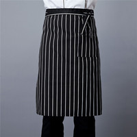 Chef half apron oil and pollution prevention restaurant hotel kitchen work clothes apron custom