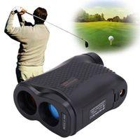 golf lazer mesafesi toptan satış-ücretsiz kargo 5 - 600P lazerli uzaklık ölçer 600m Mesafe Ölçer 6X Monoküler Golf Mesafe Ölçme