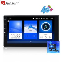 Wholesale 2g ram gps android tablet resale online - car dvd Junsun G LET Din quot Android Car Multimedia Radio Player GPS G RAM GB ROM Tap PC Tablet OBD2 Univeral autoradio Stereo Audio